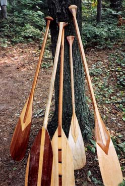 Hand-crafted paddles